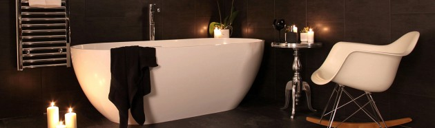 Be Besotted with Black Bathroom Decor