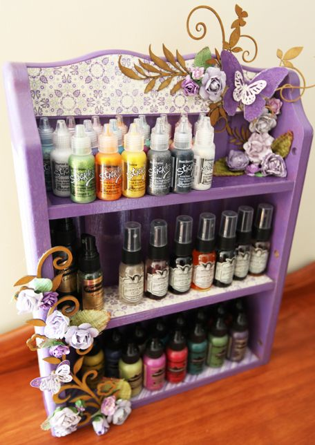 Easter Wreath: 17 Interesting Ideas For Repurposing Old Spice Rack That
