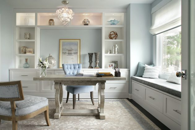 16 Blue Home Office Designs That Will Catch Your Eye