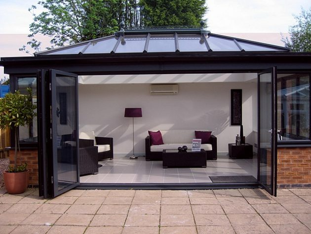 Cant Decide Between a Conservatory or a Sunroom? Then Choose an Orangery