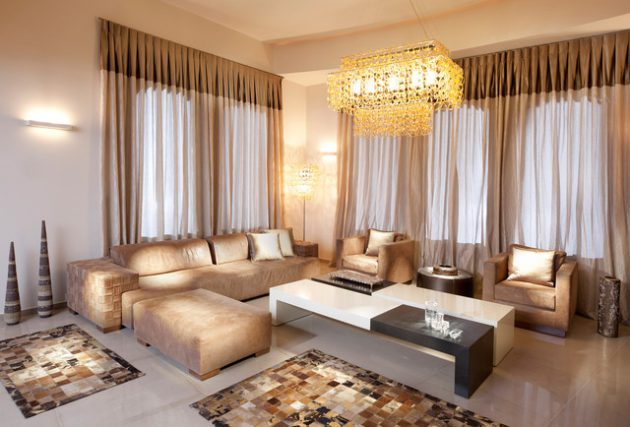 15 Beautiful Curtains Designs To Adorn Your Living Room