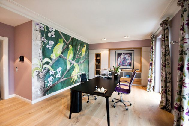 15 Motivating Contemporary Home Office Designs That Will Help You Do More