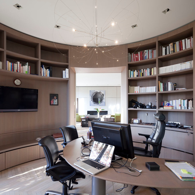 Motivating Contemporary Home Office Designs That Will Help You Do More