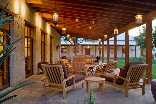 15 Welcoming Southwestern Porch Designs To Inspire You on Back Deck Ideas For Ranch Style Homes id=14789