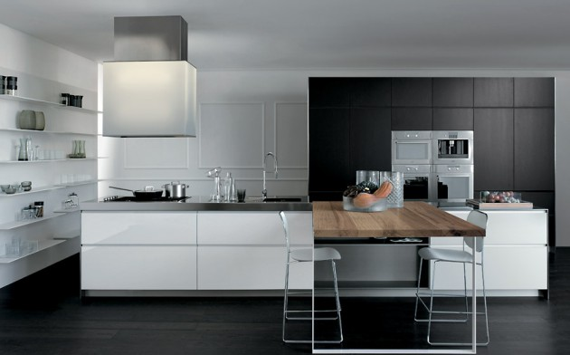 17 Gorgeous Black & White Kitchen Designs For Every Modern Home