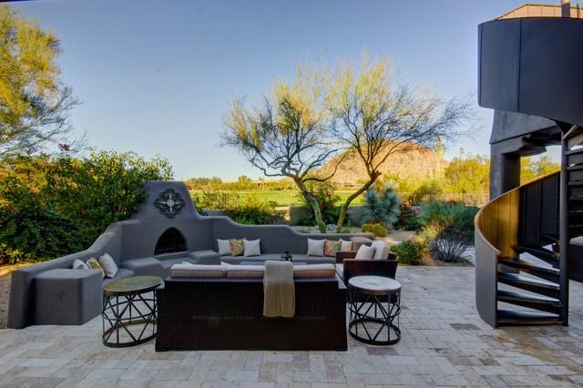16 Cozy Southwestern Patio Designs For Outdoor Comfort on Southwest Backyard Ideas id=17641