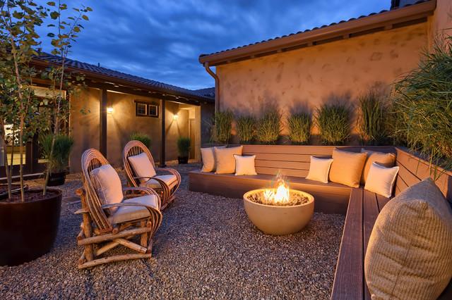 16 Cozy Southwestern Patio Designs For Outdoor Comfort on Cozy Patio Ideas id=21461