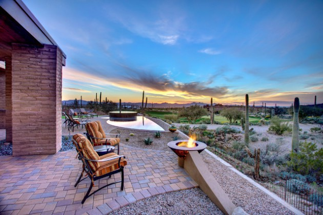 16 Cozy Southwestern Patio Designs For Outdoor Comfort on Outdoor Backyard Design Ideas id=58894