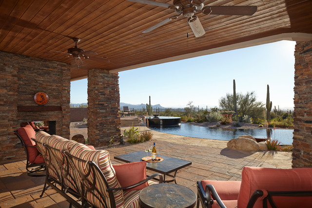 16 Cozy Southwestern Patio Designs For Outdoor Comfort on Outdoor Backyard Design Ideas id=15265