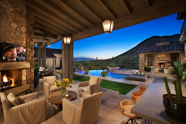 astonishing outdoor terrace design ideas | 16 Cozy Southwestern Patio Designs For Outdoor Comfort