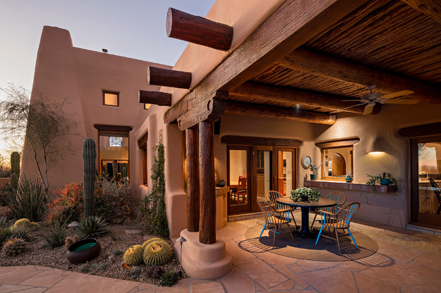 16 cozy southwestern patio designs for outdoor comfort Home design and comfort