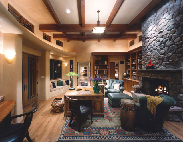 16 Encouraging Southwestern Home Office Designs Youll Love Working In You Ll