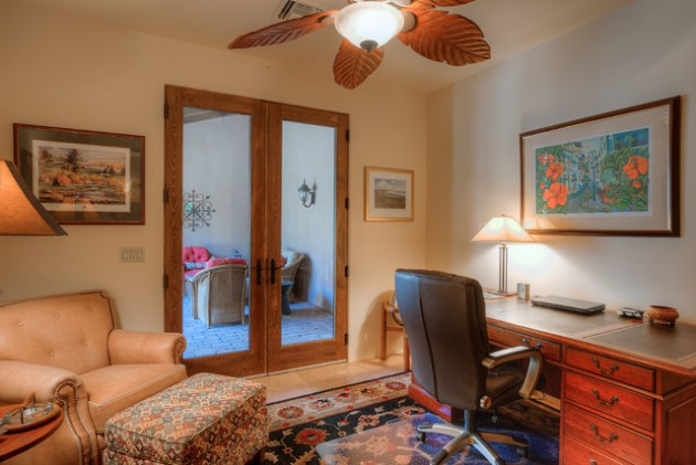 16 Encouraging Southwestern Home Office Designs You'll Love Working In