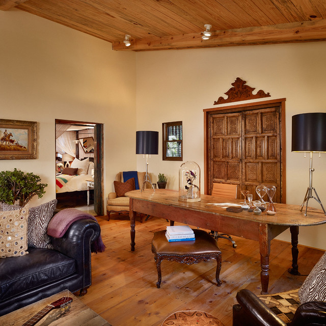 16 Encouraging Southwestern Home Office Designs Youll Love Working In