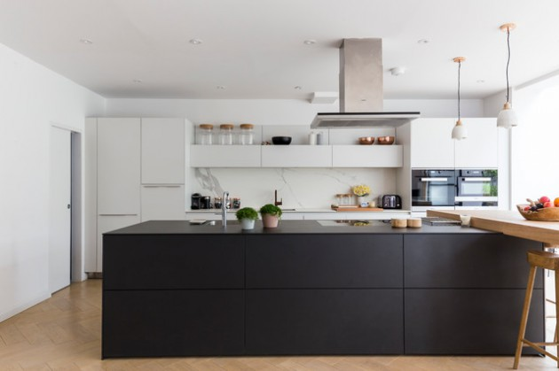16 Irresistible Contemporary Kitchen Designs You'll Want To Cook In