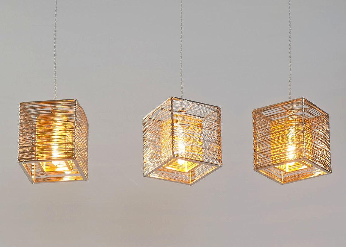 16 modern handmade lighting ideas for a unique atmosphere for Pendant lighting modern design