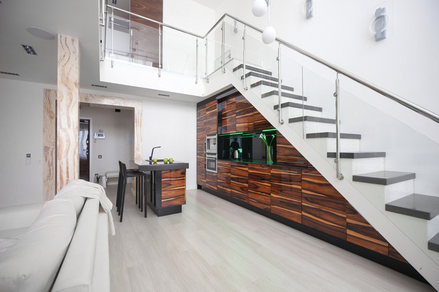 16 Stirring Contemporary Staircase Designs That Will Take