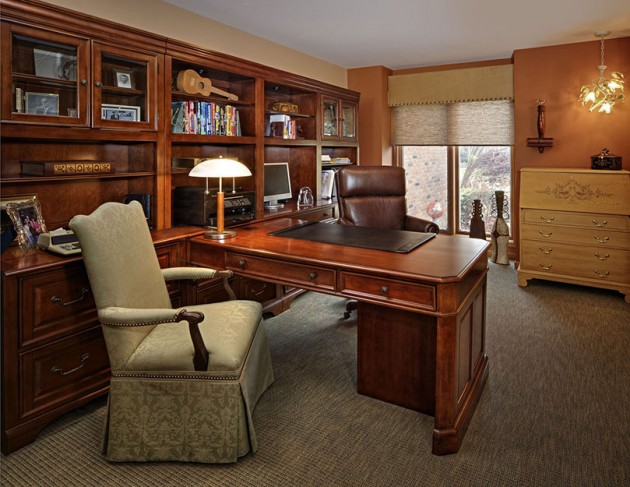 21 Really Impressive Home Office Designs In Traditional