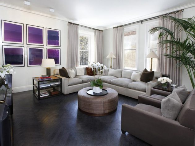 18 Fascinating Living Room Designs With Modern Round