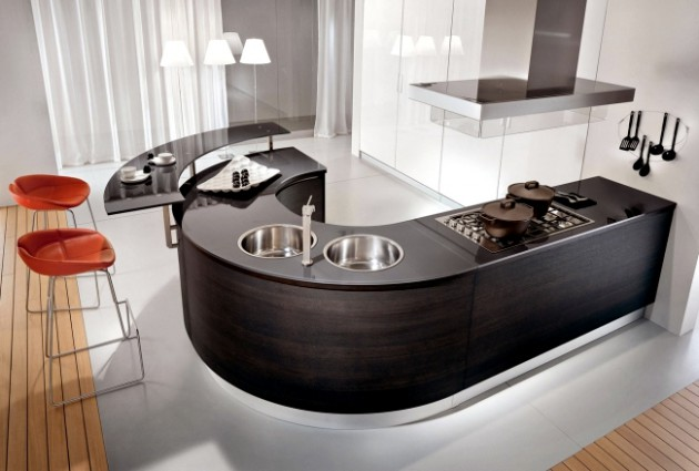 19 Irresistible Modern Kitchen Islands That Will Make You Say Wow
