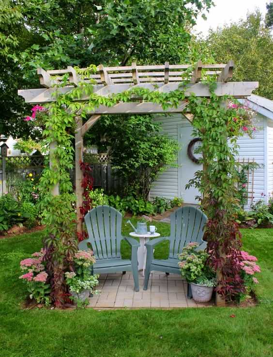 20 Outstanding Garden Retreat Designs For Real Enjoyment ... on Landscape Design Small Area id=38865