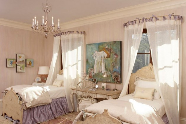 19 Fabulous Canopy Bed Designs For Your Little Princess