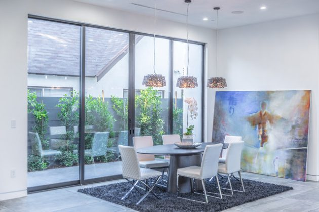 20 Bountiful Contemporary Dining Room Interior Designs