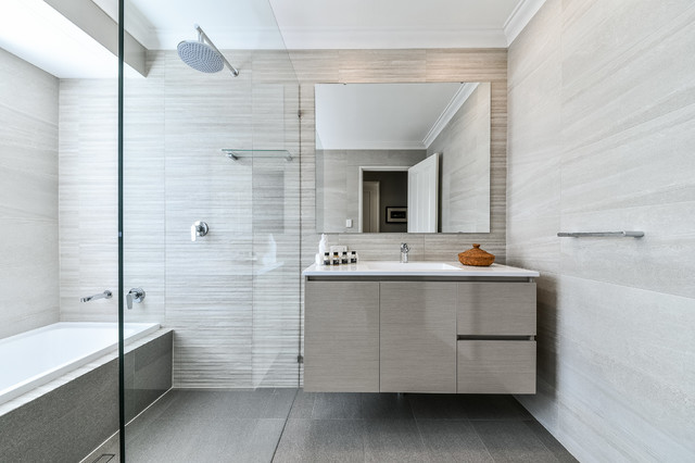 captivating black bathroom design | 22 Captivating Contemporary Bathroom Designs That Will ...