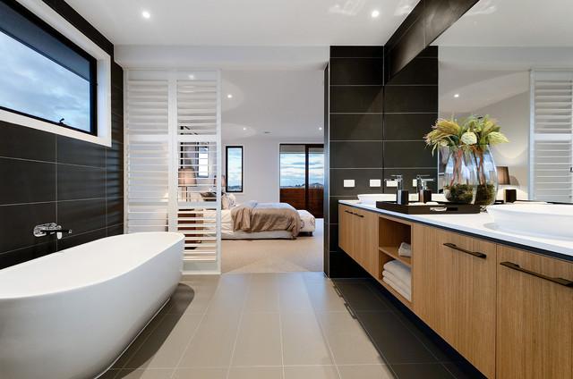 22 Captivating Contemporary Bathroom Designs That Will ... on Small:e_D8Ihxdoce= Bathroom Ideas  id=35070