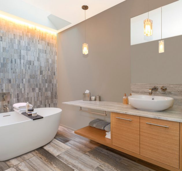 22 Captivating Contemporary Bathroom Designs That Will Blow You Away