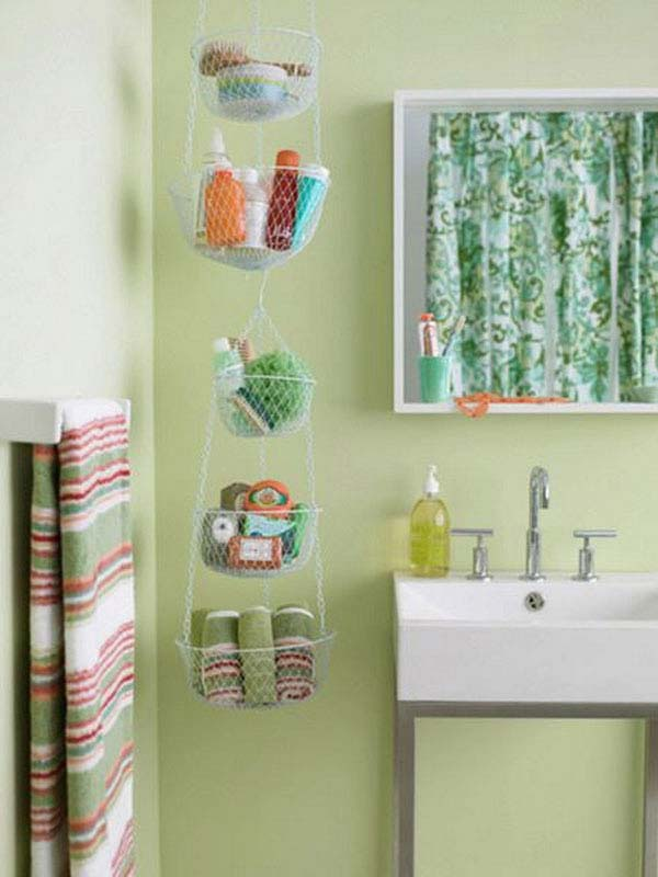 24 The Most Easiest DIY Storage Ideas To Improve Your Small Bathroom