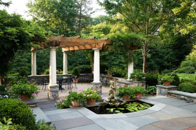 19 Captivating Patio Designs With Traditional Charm