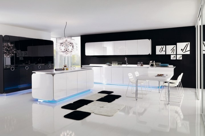 17 Gorgeous Black White Kitchen Designs For Every Modern Home