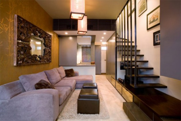 20 Stylish & Functional Solutions For Decorating Narrow Living Room