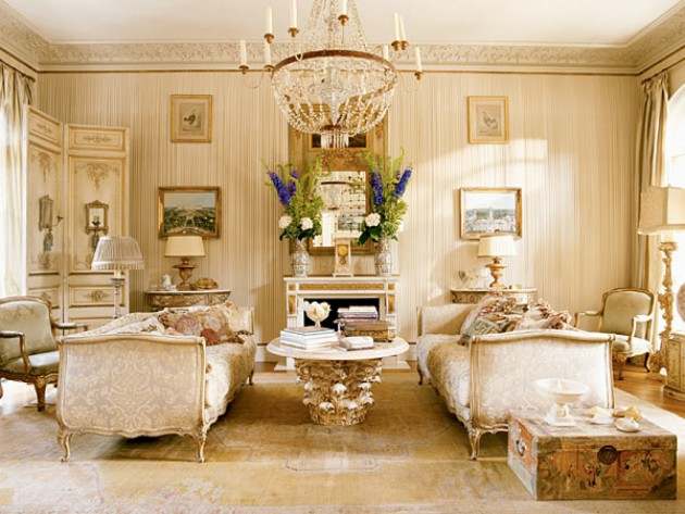 16 Captivating French Style Living Room Designs That Will Delight You