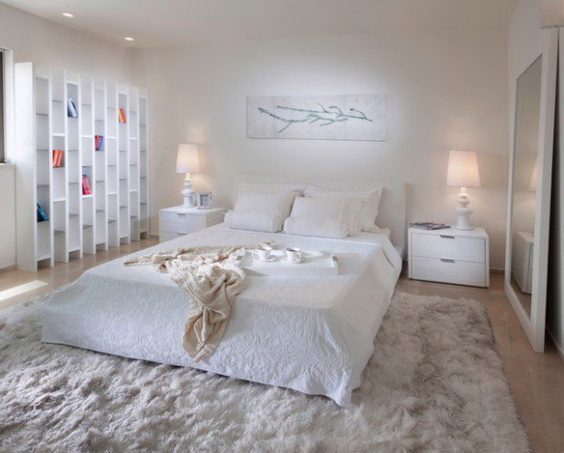 16 Delightful White Bedroom Designs That Abound Elegance
