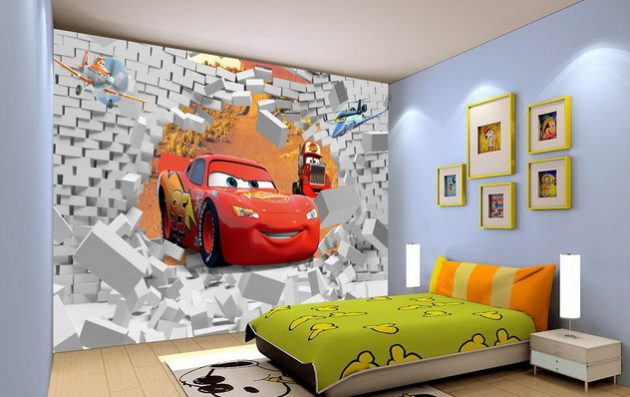 14 Majestic Cartoon Wallpaper Designs For Your Dream Child's Room