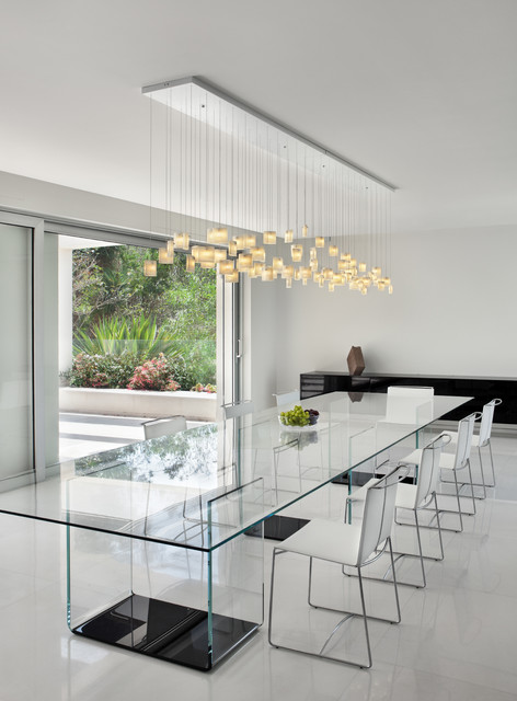 17 Adorable Dining Room Designs With Beautiful Glass Table