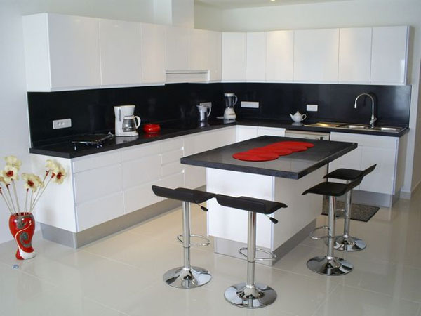 17 Gorgeous Black U0026 White Kitchen Designs For Every Modern Home