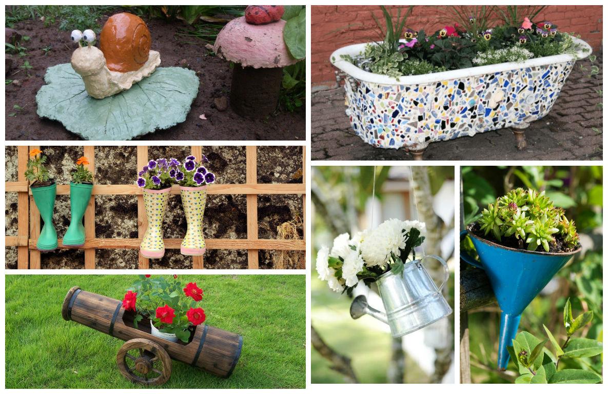 Diy garden decorations - 19 Surprisingly Awesome Diy Garden Decorations That Everyone Can Make