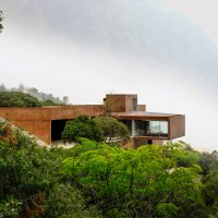 The Contemporary Narigua House in Mexico by P+0 Architecture