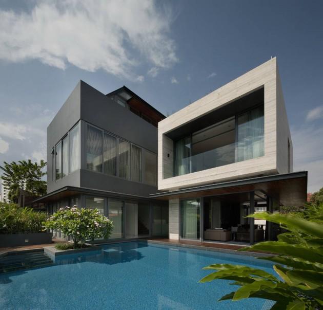 The Travertine Dream House by Wallflower Architecture + Design