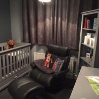 Stylish Grey Nursery