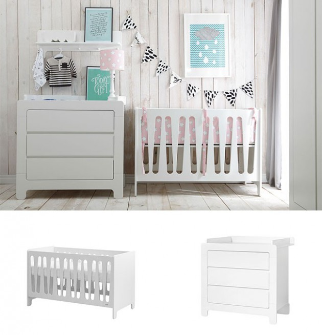 Stylish Grey Nursery