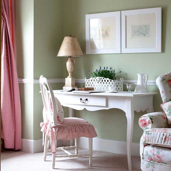 18 Beautiful Home Office Designs With Feminine Allure