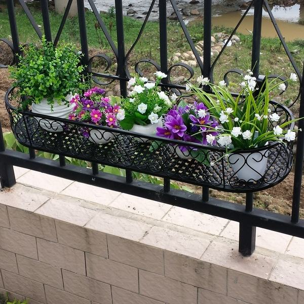 Modern Railing Planters Custom By Rushton: 15 Awesome Flower Pot Designs To Enhance The Look Of Your