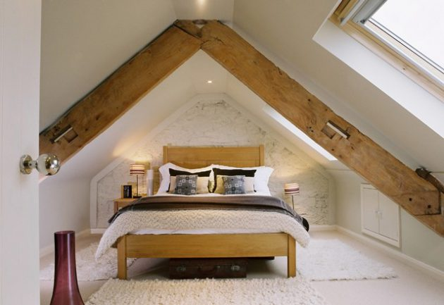 19 Fascinating Bedroom Designs With Exposed Beams That Will Delight You