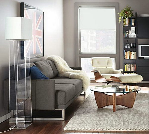 17 round coffee table designs to adorn your modern living room Round coffee table in living room