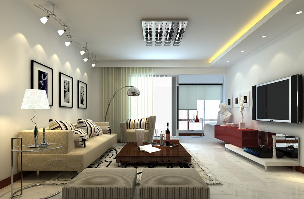 Wonderful Examples Of Living Room Lighting