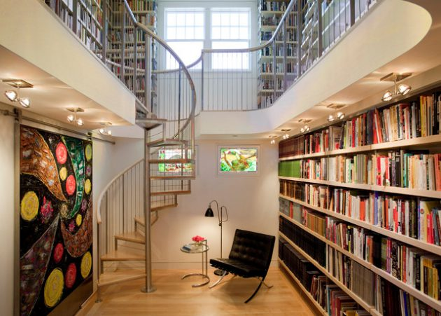 18 Delightful Spiral Staircase Designs To Adorn Your Interior Design